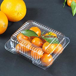 Hộp nhựa trong đựng trái cây