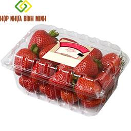 Hộp nhựa đựng hoa quả 250g