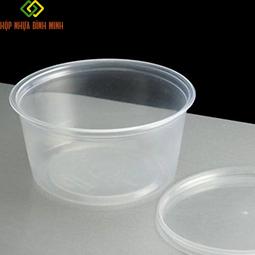 Hộp nhựa tròn 350ml