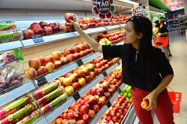 chọn địa chỉ cửa hàng hoa quả