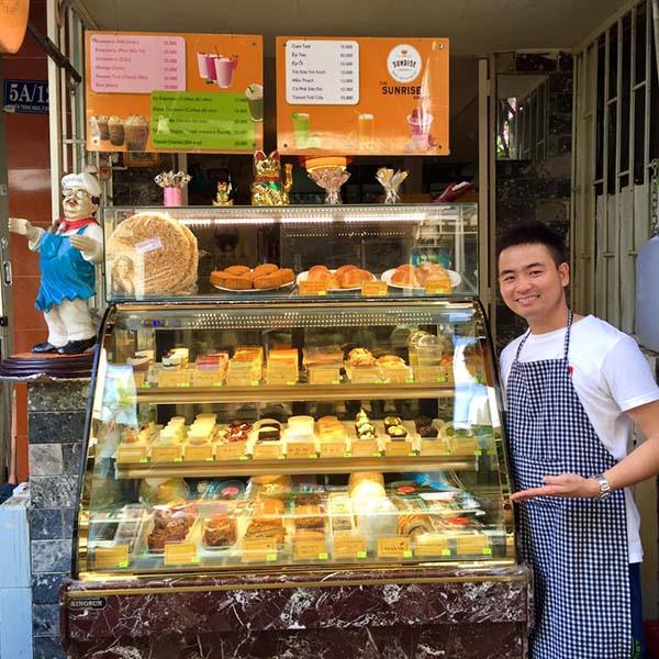 chọn địa điểm kinh doanh bánh ngọt