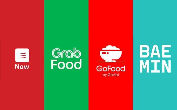 ứng dụng giao đồ ăn trực tuyến