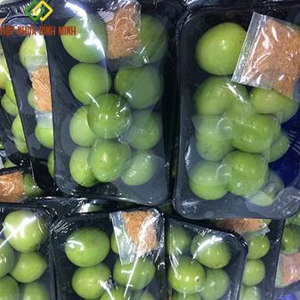 khay nhựa đựng hoa quả gọt sẵn