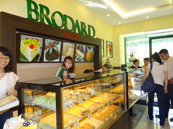 phân loại khách hàng mua bánh