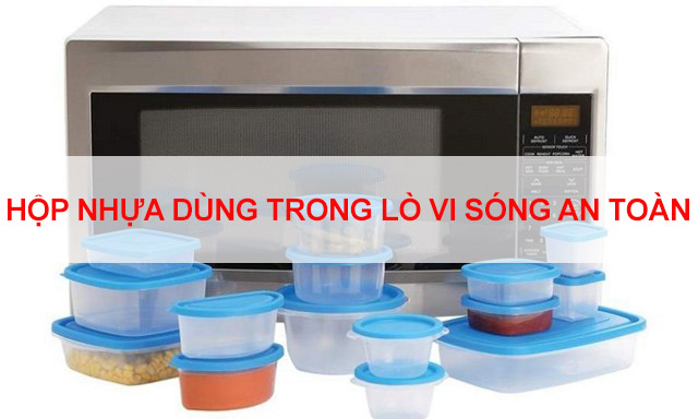 hộp nhựa dùng trong lò vi sóng lò nướng an toàn