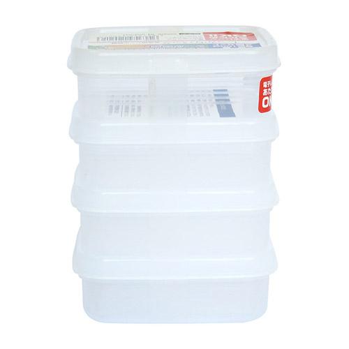 combo bộ hộp bảo quản thực phẩm nakaya
