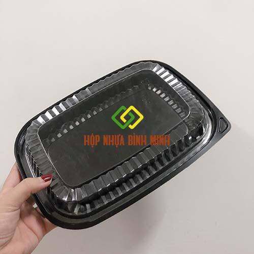 hộp đựng cơm 1 ngăn dùng 1 lần giá rẻ