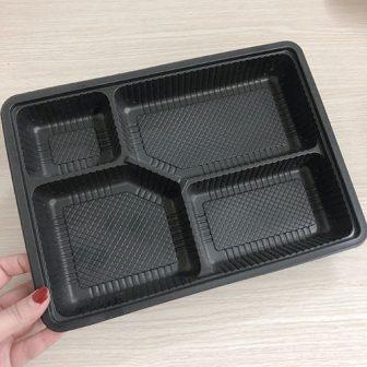 hộp nhựa đựng cơm 4 ngăn tiện lợi
